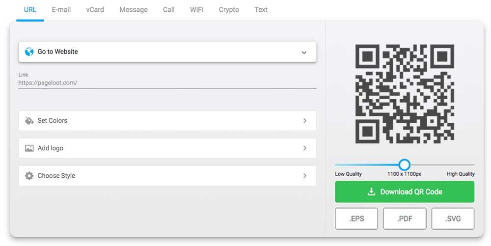QR-Code kostenlos online erstellen