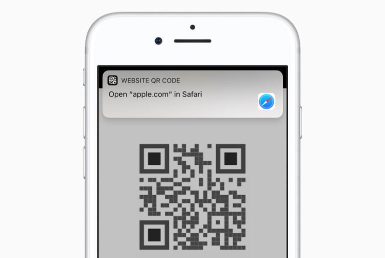 how to scan qr code with iphone camera