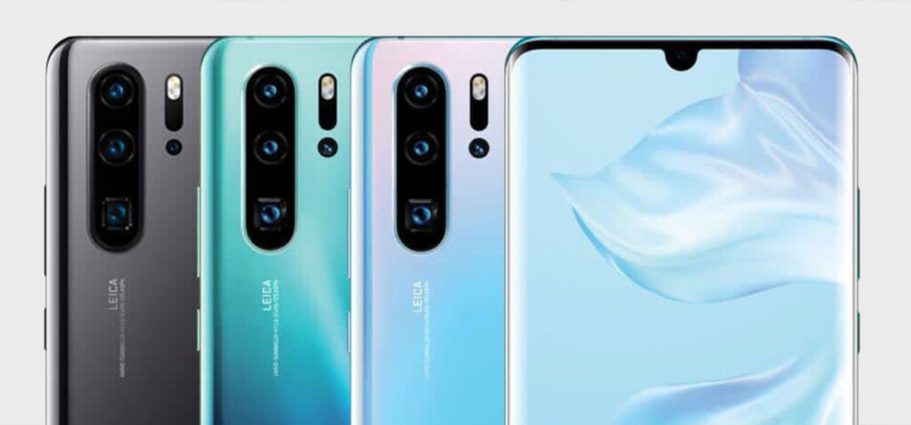 Scan QR Code with Huawei P30 Pro