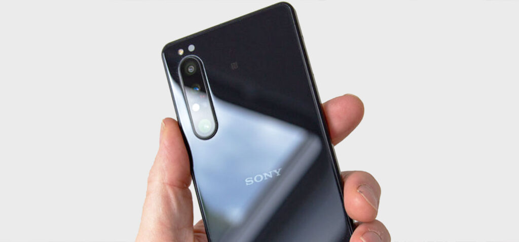 Scan QR Code with Sony Xperia 1 II