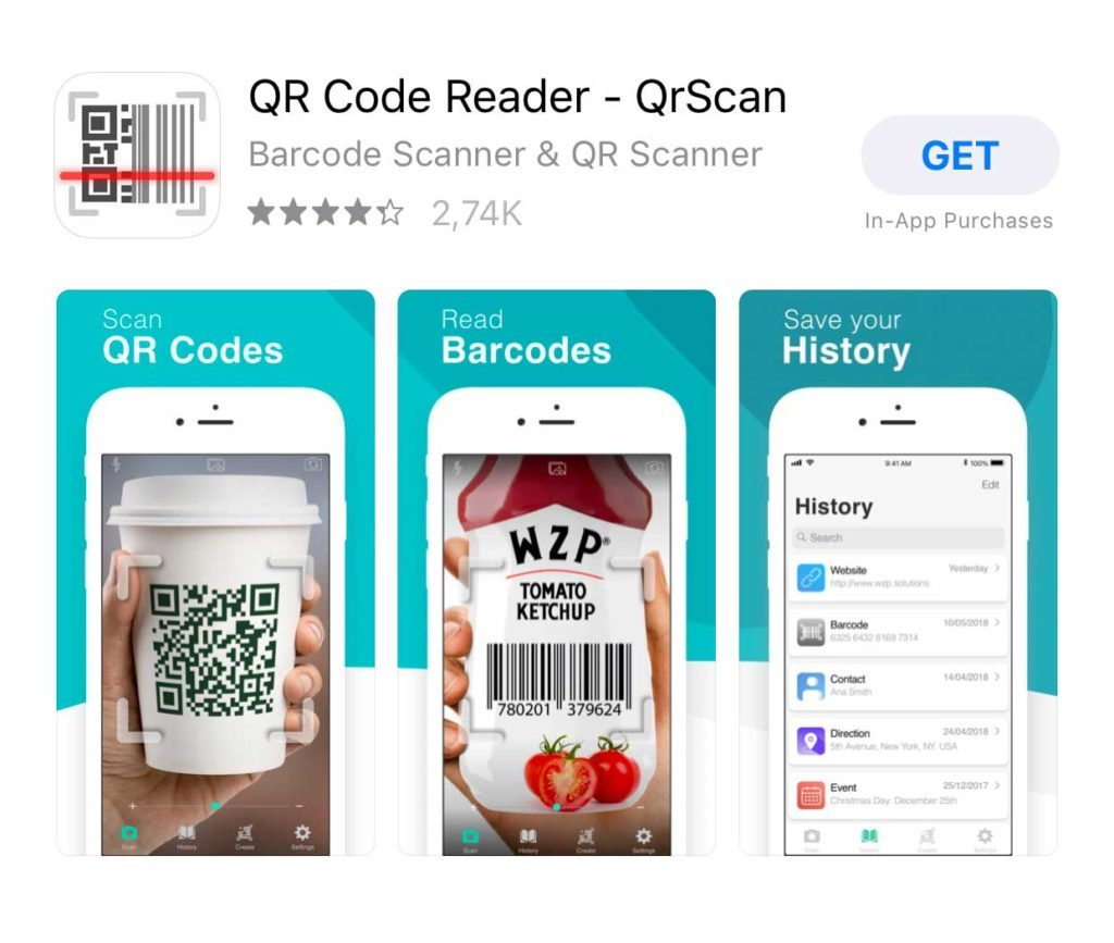 qr code reader iphone, jak czytać qr code iphone