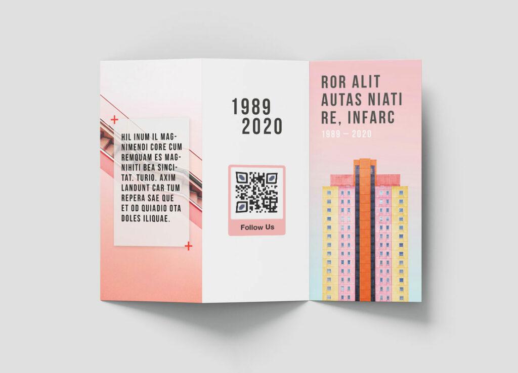 Генератор QR-кодов для брошюр - Пейджлут