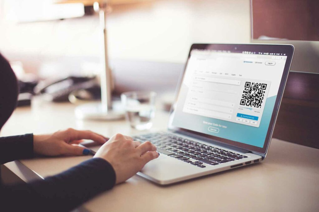 QR Codes on websites could boost customer convenience