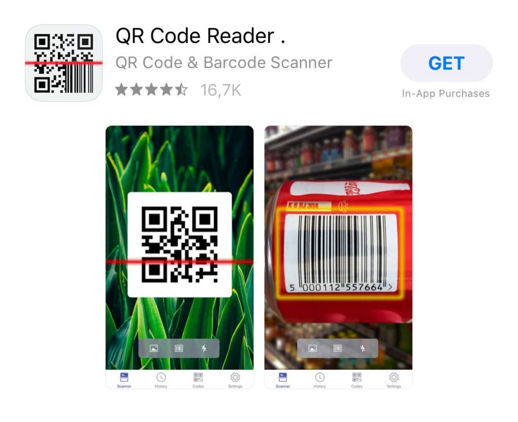 qr scanner iphone - iOS App Store Free Download