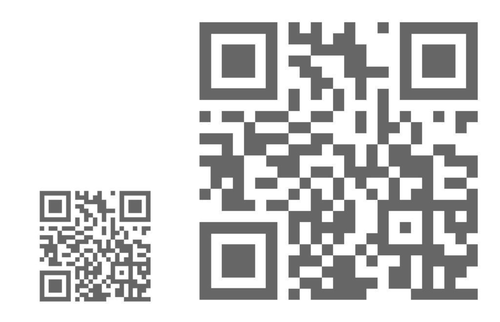 QR Code Minimum size, how small can a qr code be?
