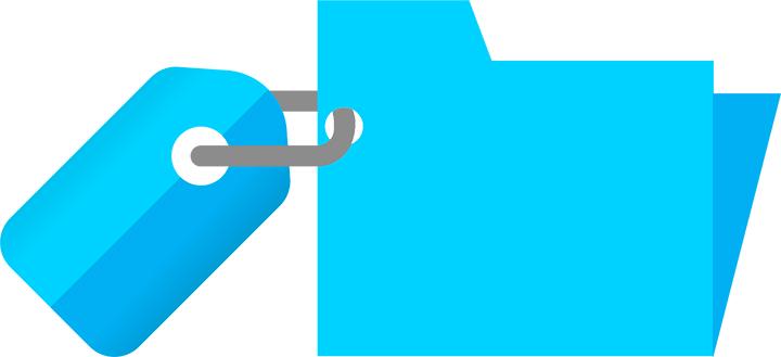 QR Code Tags Folders Organizar