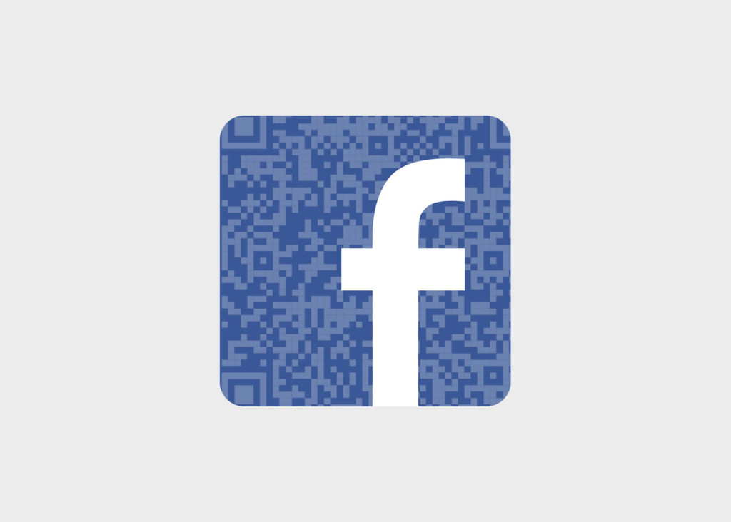 Gerador e Scanner de QR Code do Facebook