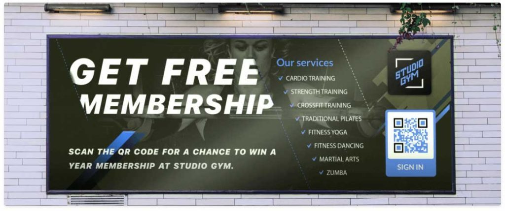 QR-Codes-for-Gym-Membership