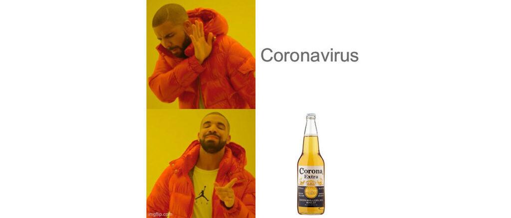 Coronavirus QR Code-Generator Meme Drake