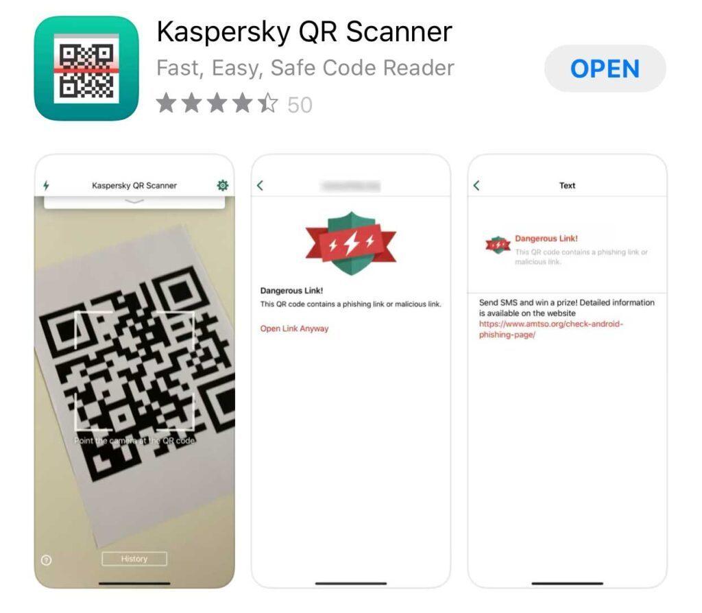 Instrument Kaspersky-Scanner-QR