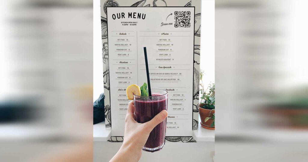 QRジェネレーター・ビジネス用オンラインカフェ