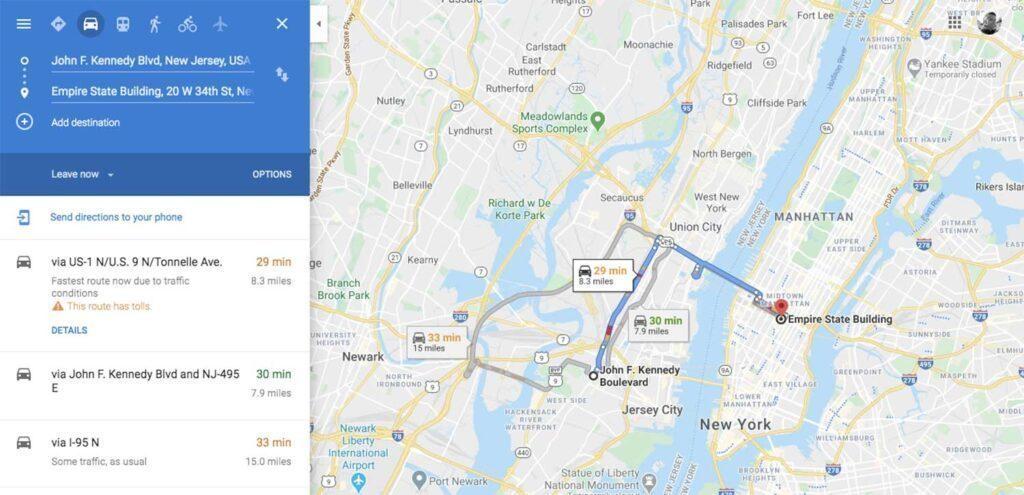 Google Maps Berbagi Kode QR