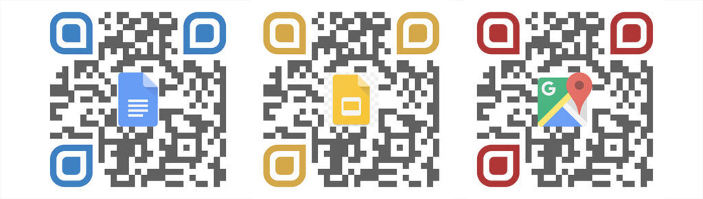 Google QR Codes for Sharing Files