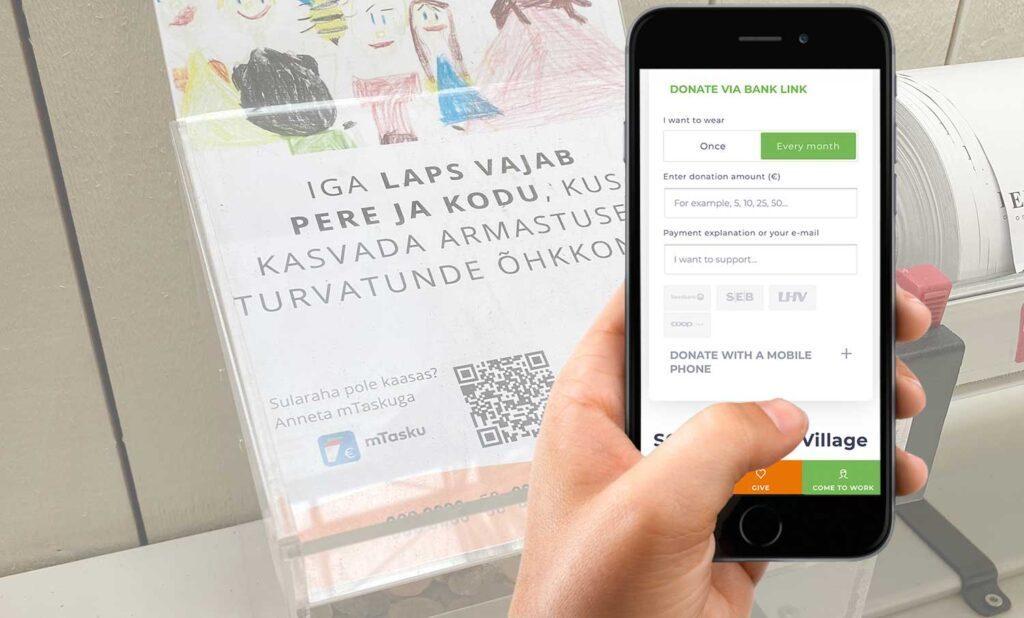 Generator kode qr terbaik untuk sumbangan pembayaran