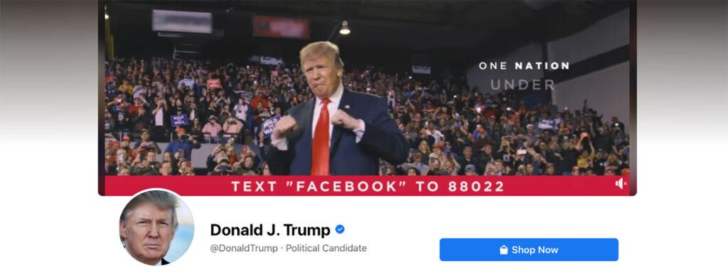 รหัส QR Facebook สำหรับผู้สมัครทางการเมือง