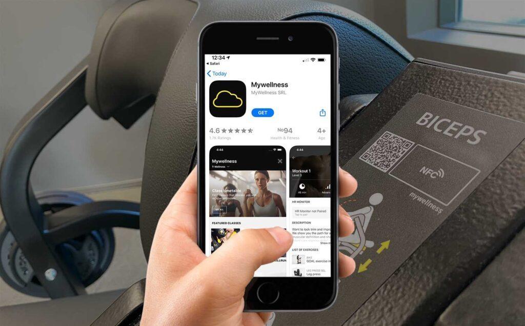 Buat QR Code untuk Aplikasi Unduhan Fitness Gym
