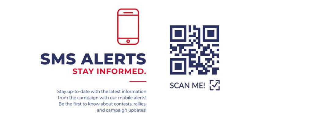 สร้างรหัส QR สำหรับแคมเปญ SMS