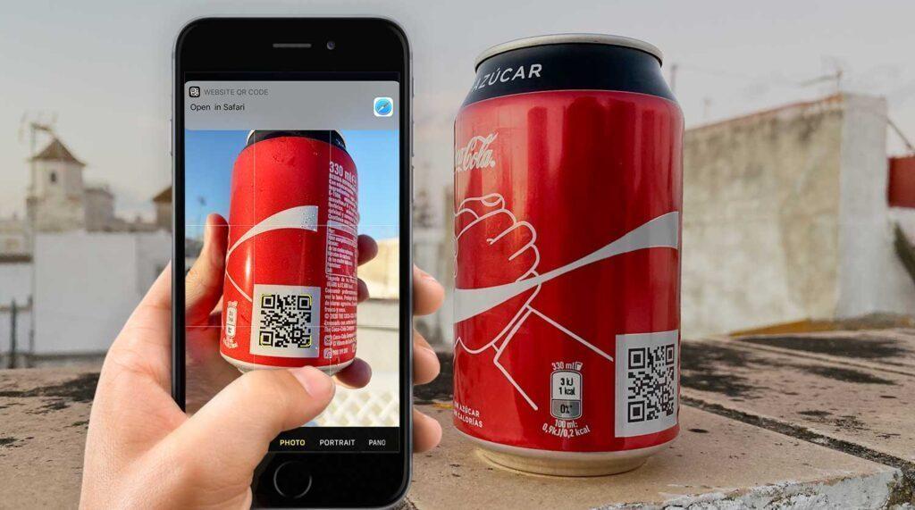 Zie hoe Coca-Cola de naamsbekendheid van het merk groeit met QR-codes