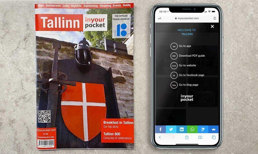 Fazer um QR Code para revistas de turismo