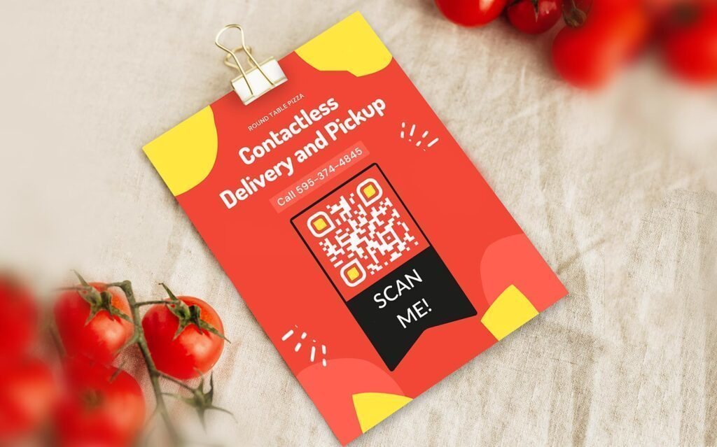 Maak een QR-code voor het bestellen van een restaurantmenu
