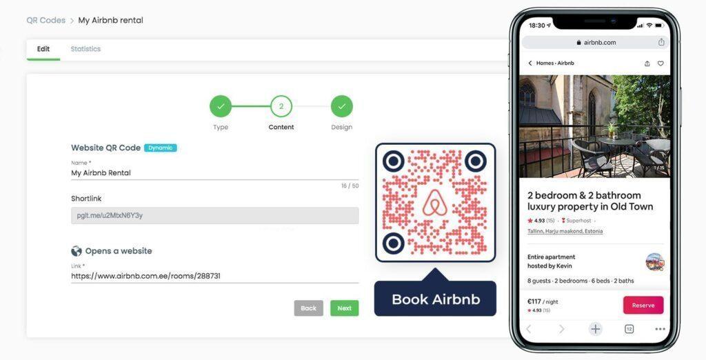 Maak een Airbnb QR-code