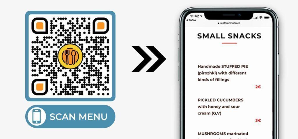PDF-QR-Code-Menü-Generator für Restaurant