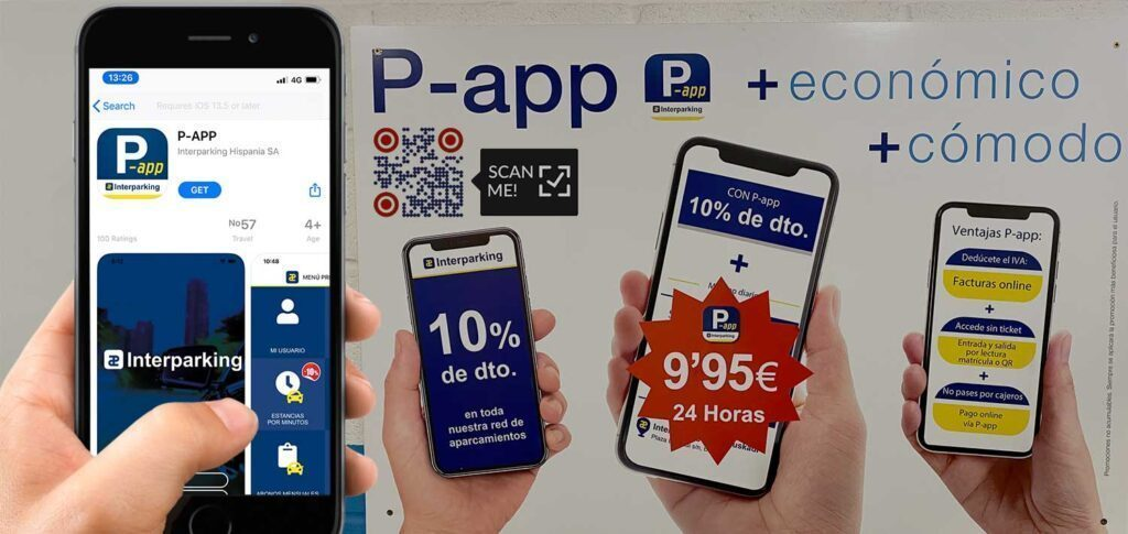 Parking App Download QR Code Giveaway Offer