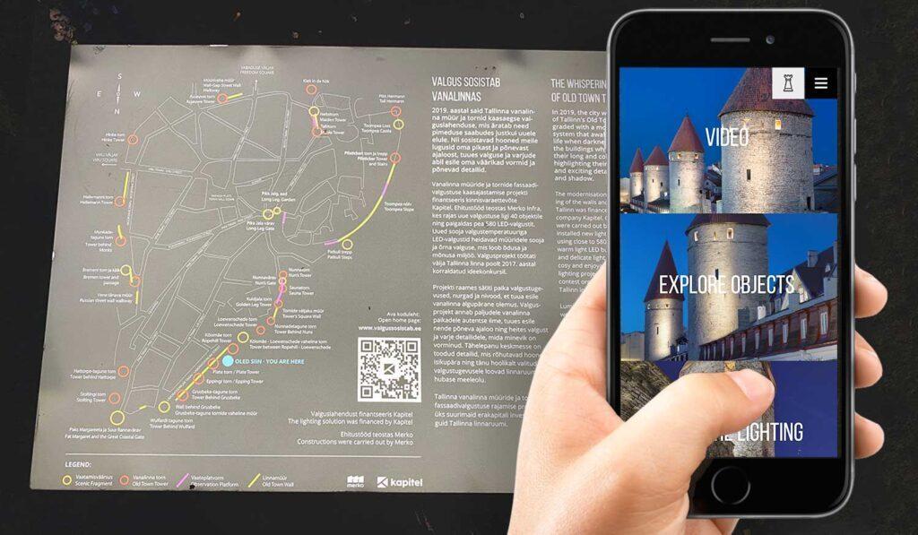 Create a QR Code for tourism info