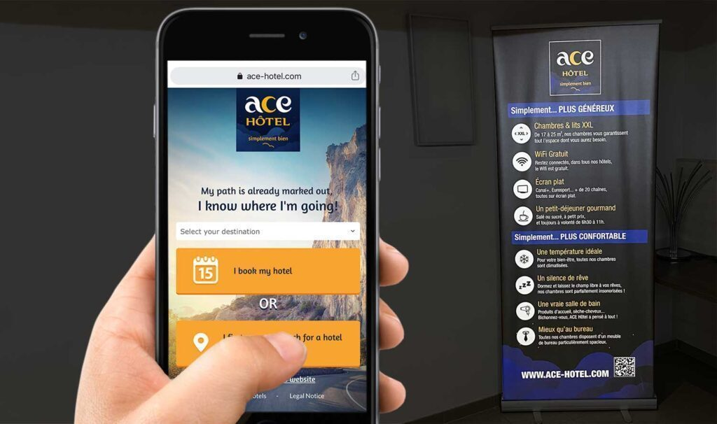Make a QR Code for hotels