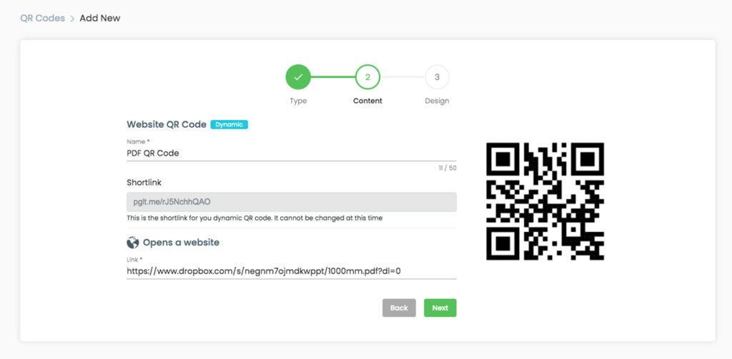 Converteer PDF-documenten naar QR-codes om ze te delen