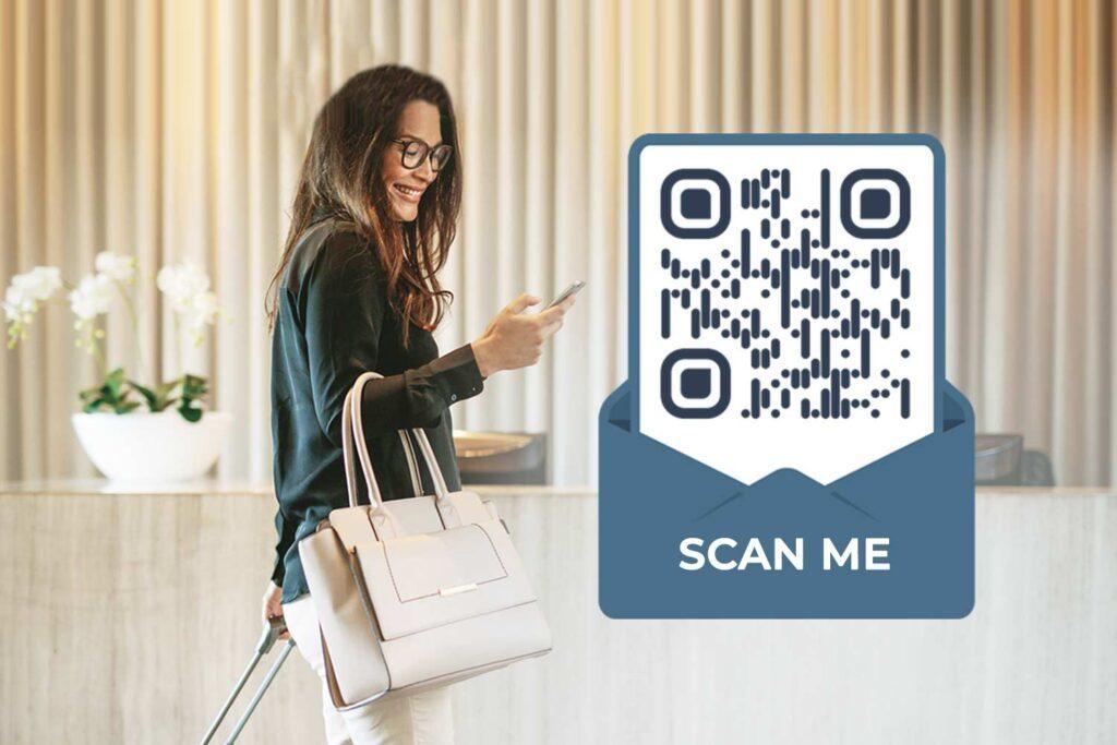 Maak een Hotel QR-code aan
