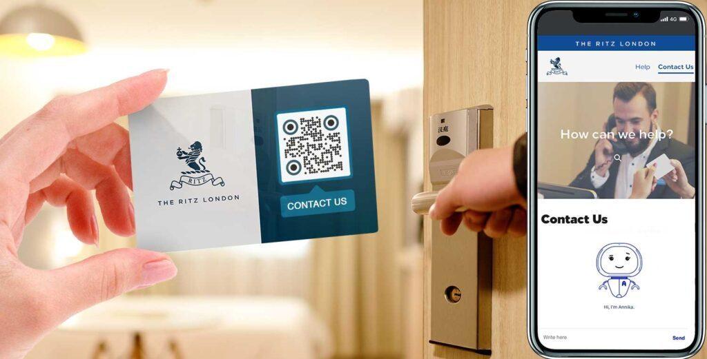 Hotelli QR-koodide generaator