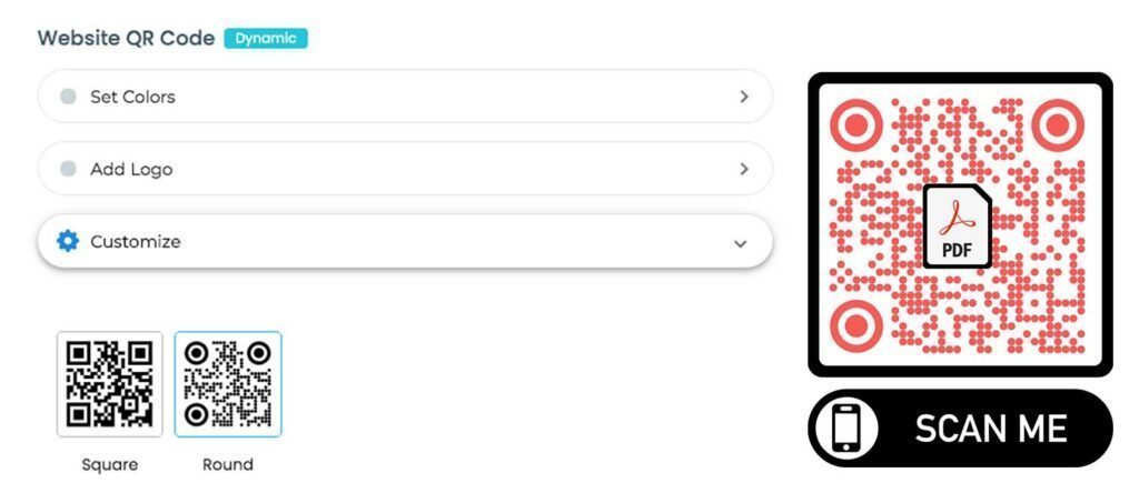 Как конвертировать PDF в QR-код