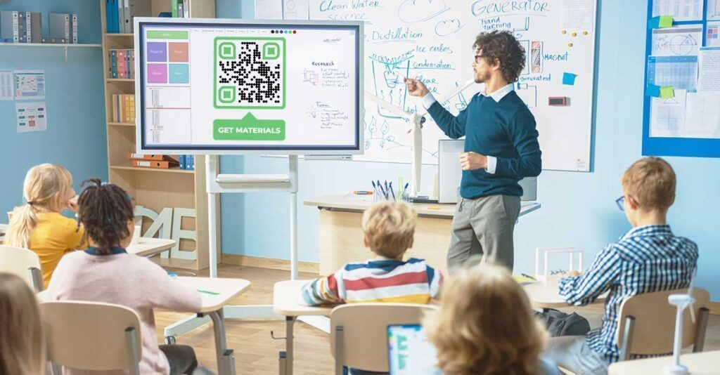 How to Use QR Code for educational institutes