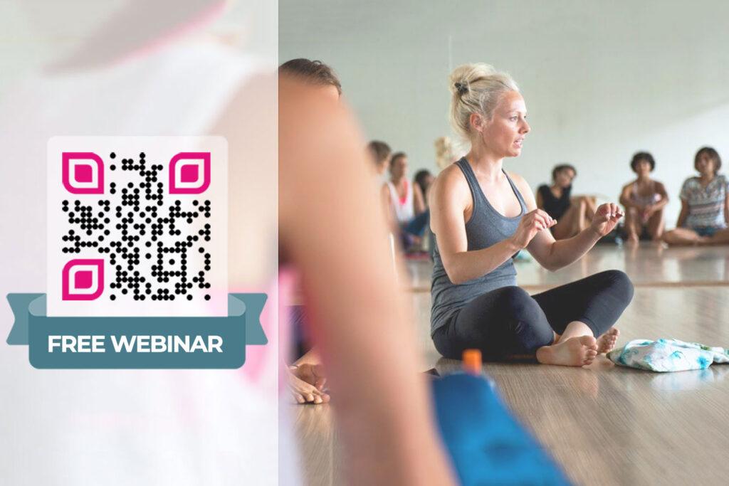 Tạo mã QR hội thảo trên web trực tuyến