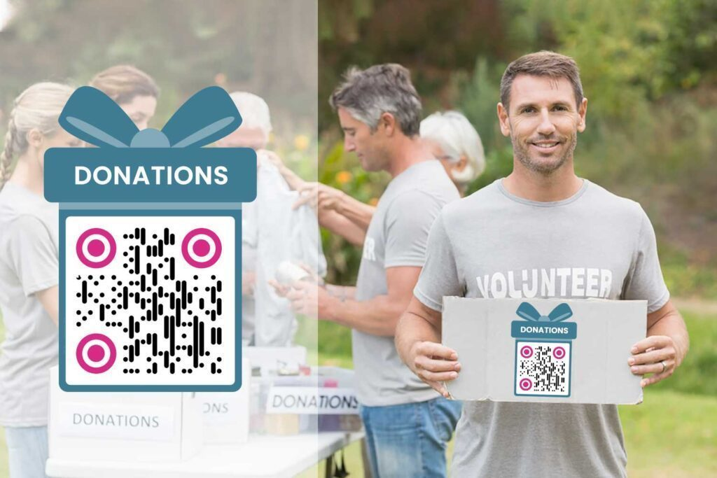 Create a QR Code for Charity Donations