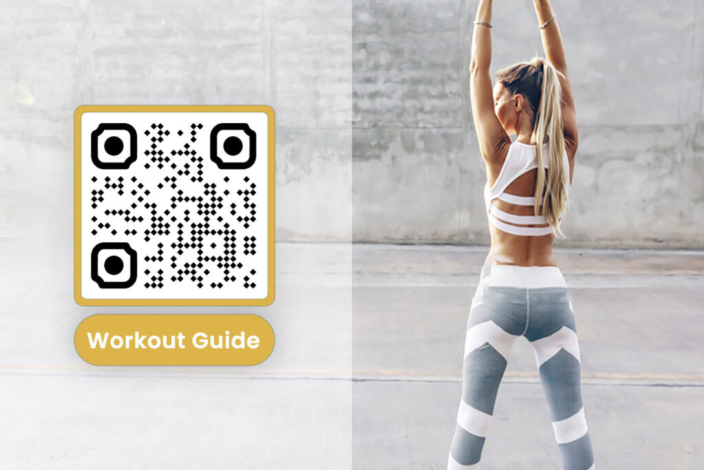 Stwórz QR Code for Fitness Industry Content
