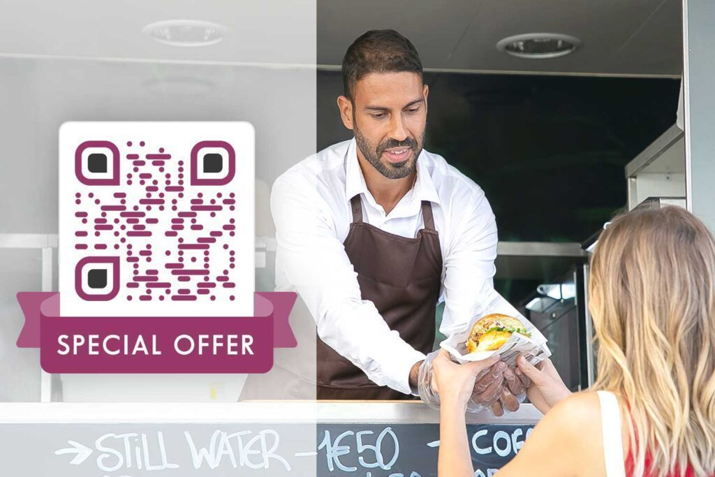 QR Code Generator for small business