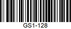 జిఎస్ 1 128 బార్కోడ్