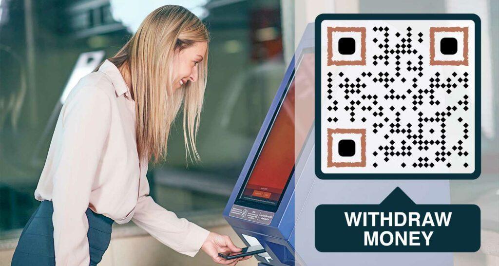 Lav en QR-kode til banker og økonomi