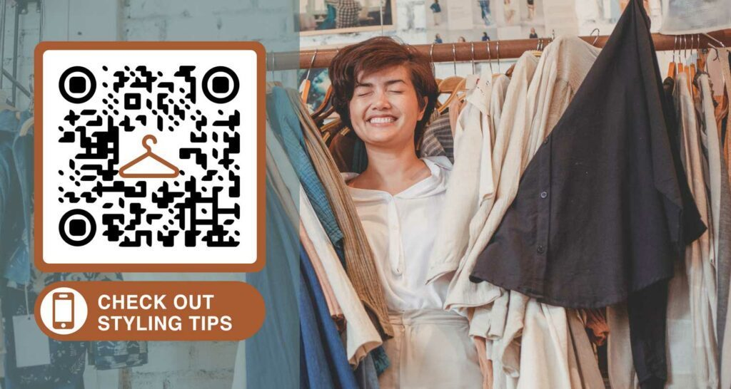QR Code maker for labels and tags