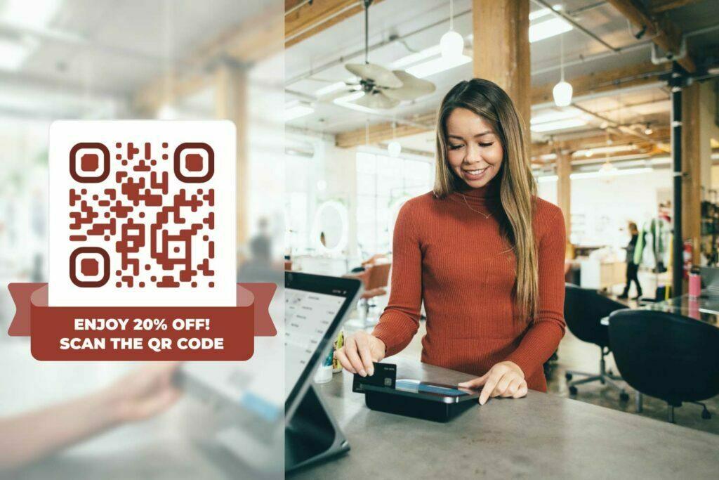 QR -kode generator til kuponer