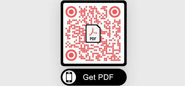 Maak PDF QR-code aan