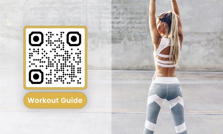 Tạo mã QR cho nội dung ngành thể dục