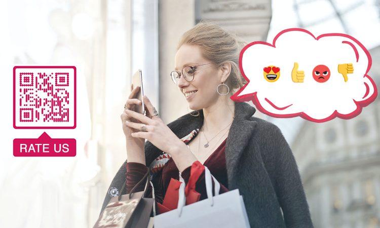 Opret QR-koder til kundeanmeldelser