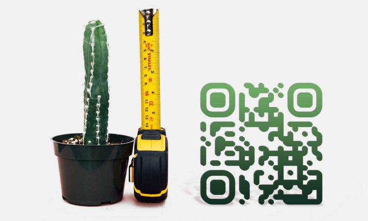How small can a qr code be and still work