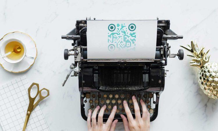 วิธีการพิมพ์รหัส QR ที่สร้าง
