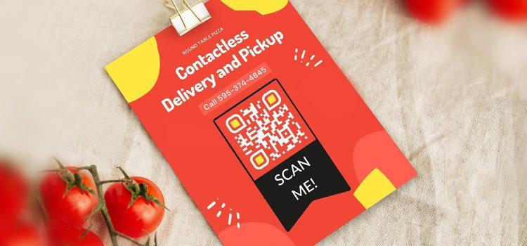 Erstellen Sie einen QR-Code für die Bestellung von Restaurantmenüs