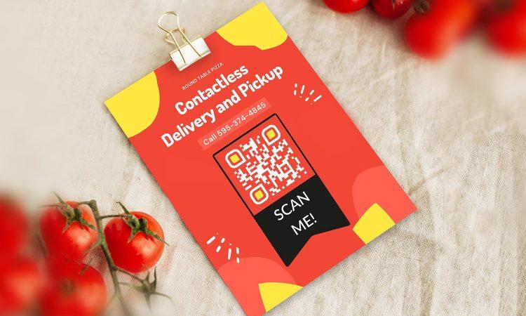 Faça um código QR para pedido de cardápio de restaurante