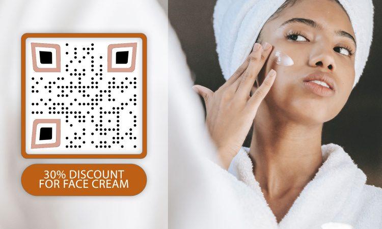 Güzellik Ürünleri için QR Kodu oluşturucu
